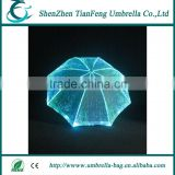 optical fiber fabric luminous decorative umbrella for festival decoration and stage shows