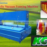 BT-3200Vsemi automatic Acrylic Blow Moulding Machine to make acrylic sign light box and letter for outdoor advertising