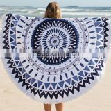 Hot selling cotton custom beach towel round beach towel                                                                         Quality Choice