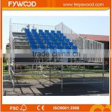 Hot sale outdoor assembly metal bleachers, bleacher chairs stadium seats