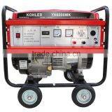 5000 watt 4 stroke ac single phase electric portable gasoline generator 5kw dynamo prices