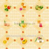 nonwoven backing table cloth/cheap table cloth/colorful pvc table cloth with nonwoven backing