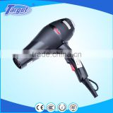 8201A two speed three heat setting black professional hiar dryer air blowing machine