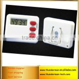 Digital Time Thermometer Kitchen Countdown Timer for setting time,countdown,household,school with LCD display