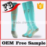 white soccer sock polyester soccer socks football socks                                                                         Quality Choice
