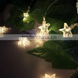 string Fairy Star Lights wedding holiday decoration battery LED christmas light