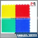 High quality anti-slip pp interlocking tile basketball court tile interlocking sport floor