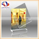 Acrylic 8x10 Double Sided Photo Frame Stand