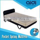 2015 Hot Sale Hospital Bed Frame, Rollaway Bed Base, Compressed Bonnell Spring Mattress AT-0315A