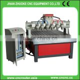 ZK-1313-6 Multi Heads CNC Router