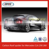 Carbon Front Lip Bumper Trims Rear Diffuser Trunk Wing For Mercedes CLA45 200 250 260