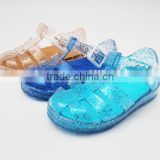 Clear PVC Jelly Sandals with Glitter for Children                                                                         Quality Choice