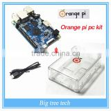 Orange pi pc KIT raspberry pi2 banana pi cubieboard Raspberry Pi with the case and the power supply J434+case