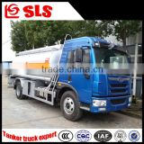 High performance Faw 10-15cbm capacity fuel tanker truck dimensions, oil tank truck, oil tanker truck