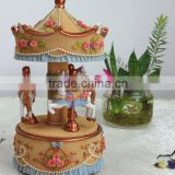 The fairy tale world dancing carousel horse for sale                                                                         Quality Choice