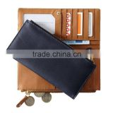 Leather long Wallet woman