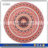 Light Weighted Outdoor Rug Wholesale Round Beach Picnic Mat