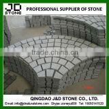 granite cobblestone paver mats/ granite interlock cobblestone