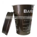 Take away china factory sale free shipping chunky fashion paper coffee cup flexo/ offset printing