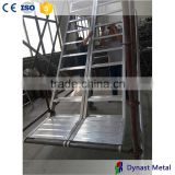 Best price hot sale used for construction ringlock system frame system mobile scaffolding tower industry aluminum step stairs