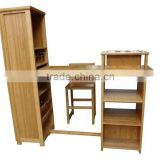 Bamboo home wine bar furniture set