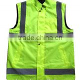 SMD LED reflective clothing/walking safety LED waistcoat reflective/cheap safety LED reflective vest