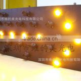 Customized Module HK Standard 1200*400mm Trailer Tail LED Arrow Guidance Indicator Aluminium Shell