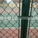 tennis netting Basketball court chain link fence