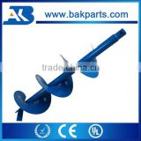 Garden tool parts 52CC petrol power tree planting digging machinesearth auger drill 200 auger bit