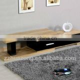 Modern Black High Gloss MDF TV Stand