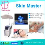 Oxygen Facial Equipment Multi Functional Portable Diamond Peel Machine With Oxygen Facial Care For Sale Skin Analysis