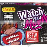 Watch Ya Mouth Speak Out Board Game / FDA Aproved
