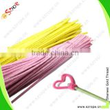 Craft chenille stems and craft wire pipe cleaners and chenille stem tinsel stem pipe cleaner