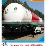 good quality 56 cubic meters shaded lpg gas tanker semi trailer
