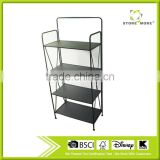 4Tier Decorative Black Metal Plant Stand Flower Stand Multi Planter Flower Pot Racks Flower stand
