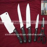 6PCS KNIFE SET