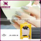 New Air Nail Shining Decorative Sticker Metallic Aluminum Nail Foil Stickers