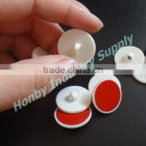 20mm Button Shape Plastic Suspended Adhesive Ceiling Loop