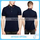 New Fashion short sleeve Men's Polo Shirts, pocket front Quality stand collar golf Men's Polo Shirts