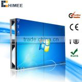 46inch full color backlit led DID lcd screen indoor video wall (HQ460-V,2X2 models,5.3mm or 6.7mm)