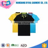 Customize lapel golf polo shirt quick-drying breathable color combination polo shirt sports polo shirt bulk