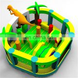 Outdoor Toys inflatable dinosaur amusement park inflatable fun city for kids inflatable dinosaur bounce house