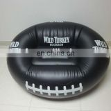 2016 hot selling inflatable football sofa, inflatable football shape chair, inflatable rugby sofa