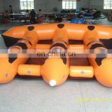 Wholesale PVC inflatable handmade flying fish inflatable pool banana
