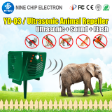 Safely and humanely High quality PIR detection Outdoor use bird cat and dog repeller Ultrasonic Animal repeller