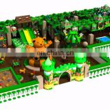 Forest theme children indoor soft play areas playground equipment,kids play system structure for games