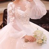 Classic Wedding Dresses Exquisite Decorated