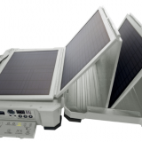 Xiaolong new waterproof plastic shell solar power generation system lithium battery solar power unit