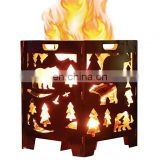 Hot Sale Heavy Duty Large Steel Fire Pit/Stove Box