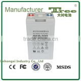 free maintenance battery 2v 200ah battery price low